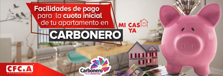 Conoce las facilidades de pago para  la cuota inicial de tu apartamento en Carbonero.