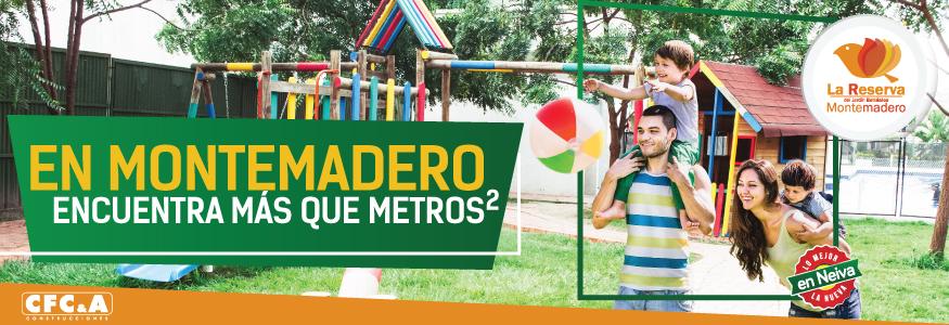 En Montemadero encuentra MÁS que metros cuadrados.