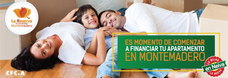 Es momento de comenzar a financiar tu apartamento en Montemadero.