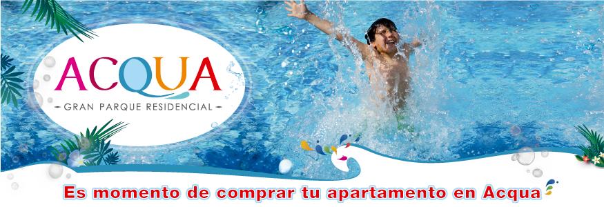 Es momento de comprar tu apartamento en Acqua.
