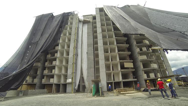 Conozca los avances de Metropolitan: acabados, enchapes, fachada y ascensor