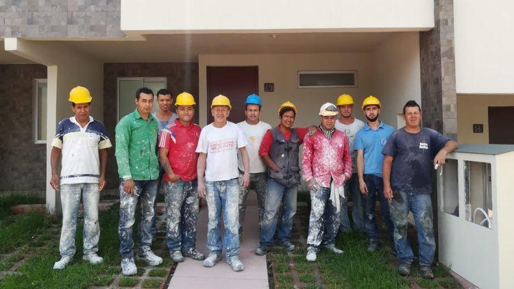 Sus sueños de vivienda en Guaduales de la Libia generan empleos