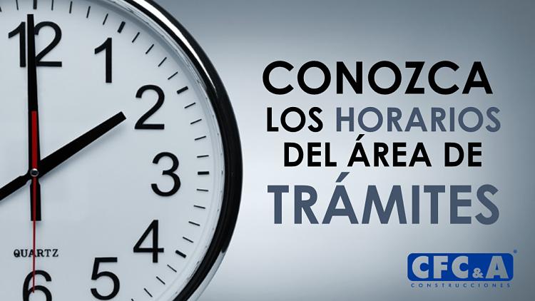 Conozca los horarios del área de trámites en Carbonero