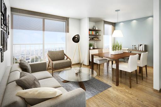 apartamentos sobre planos bogotá